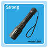 18650 / AAA battery led rechargeable torch flashlight