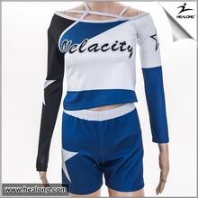 Highlight School and Academy cheerleading uniforms,Dance wear,Spirit wear top