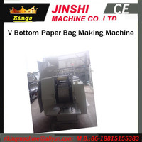 Less Error Reasonal Design Automatic High Speed Cost Of Paper Bag Making Machine