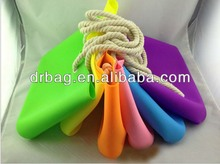 Candy Color Tote Shoulder Bag with Silicone Beach Bag