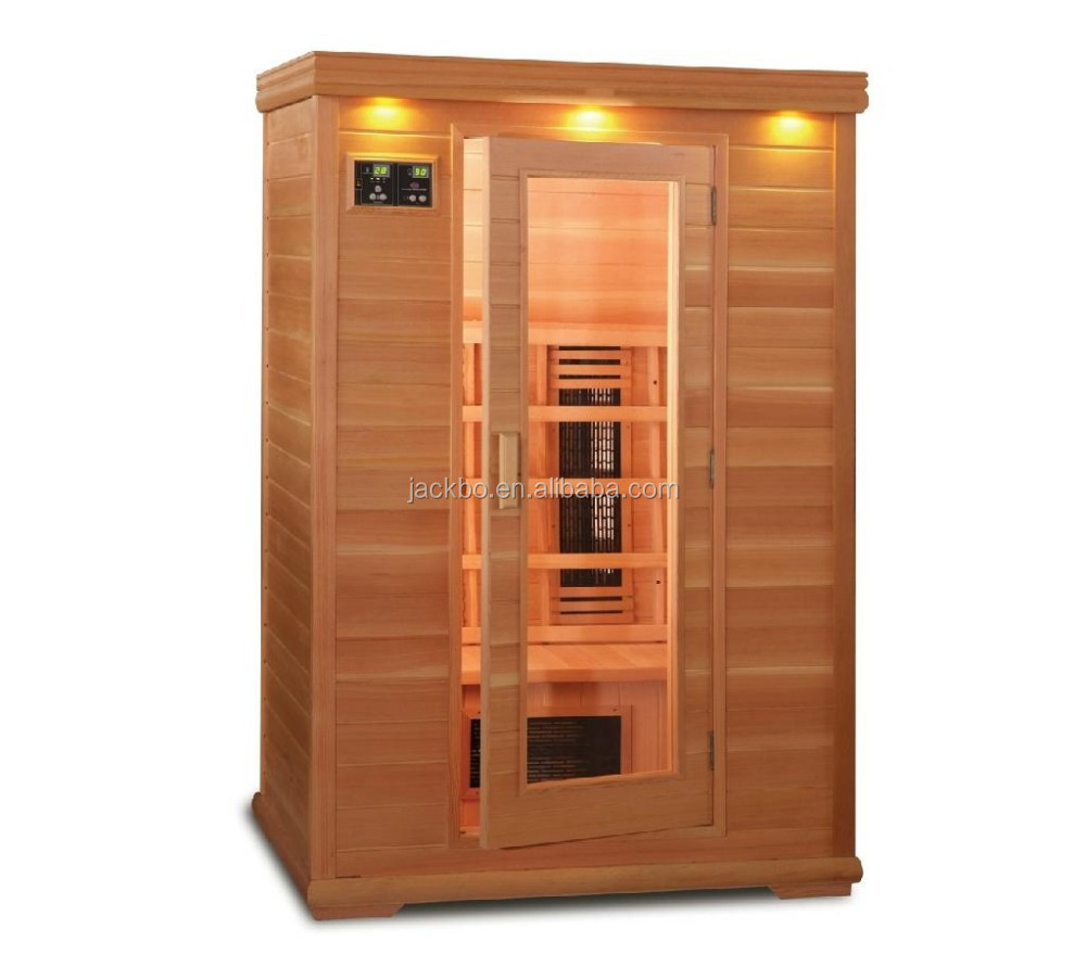 professional portable 1 person far infrared indoor solid wood sauna room sauna steam room dry. Black Bedroom Furniture Sets. Home Design Ideas