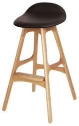 Modern appearance of wooden bar chair,bar stool with fabric cushion of bar furniture