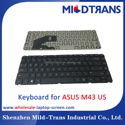 new original US Laptop keyboard for ASUS M43 N43
