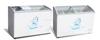 338L chest freezer sliding curved glass door uropean series SC/SD-338