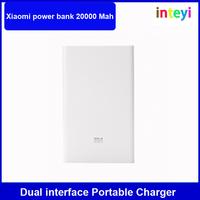 Original Xiaomi power bank 20000 Mah dual interface Portable Charger Backup Powers External Battery Charger Xiaomi 20000 Mah pow