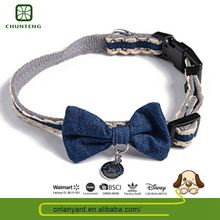 Oem Design Natural Color Pet Product Supplies Leather Collar For Dogs