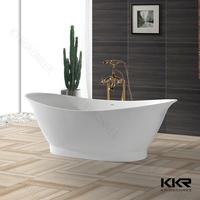 kingkonree chemical resistance double apron bathtub/ tall bathtubs/ japanese bathtub