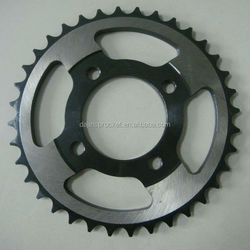 1045# steel high quality motorcycle linked chain sprockets for bajaj pulsar motorcycle from China manufacturer
