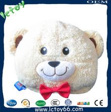 Hot sale animal shape child pillow and kid bag