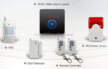 GSM alarm ANDROID App GSM home security system W20