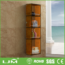 Fast delivery and high quality rustic corner display cabinet