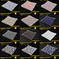 New Arrival 5pcs Per Lot 9.8in*9.8in 100% Soft Cotton Handkerchief For Men