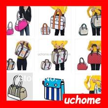 UCHOME wholesale 22 style 3d cartoon bag shoulder inclined cross bag creative birthday gift women messenger bag