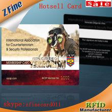 2014 superior calidad iso 14443a/iso 15693 rfid tarjeta de rfid profesional fabricante de la tarjeta