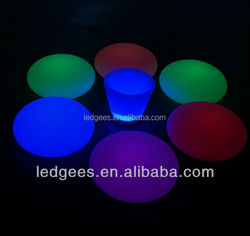 Color Changing Waterproof Rechargeable Compressed Led Ball
