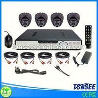 CCTV camera system kits cctv camera 720p two way audio p2p wireless ip camera construction gloves