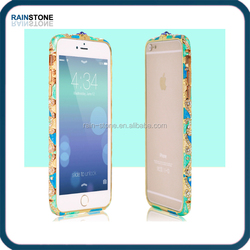 Crystal bling diamond case for Apple iPhone 6, for Apple iPhone 6 bumper case