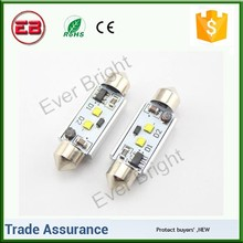 High power 36mm 39mm 41mm Canbus Error Free 14W C-ree Led Festoon Lamps Number Plate Lights, canbus decoder