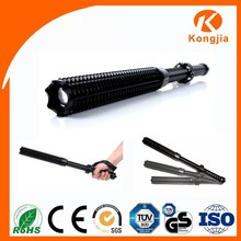 Rechargeable Zoomable Aluminium Ultra Bright Led Flashlight Torch Design Factory Alarm Clock Torch