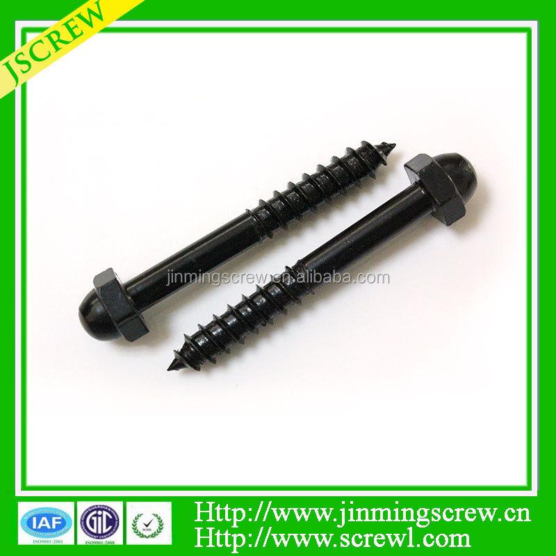 black wood screws 2