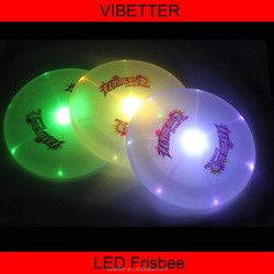 High Quality Plastic Customized LED Frisbee