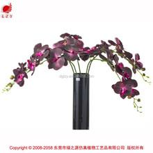 Real toque artificial orquídeas atacado flores de orquídea artificial