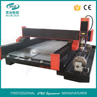 China manufacturer 4 axis HG-1325 stone marble cnc engraving machine