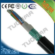 emtj aérea 2 4 8 12 24 fibras núcleos de cable de fibra óptica de los precios