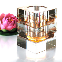 China Crystal Pen Holder,Colorful Crystal Container/Pencil Box