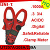 UT207A Factory Wholesale 3 3/4 1000A AC/DC Digital Clamp Meter