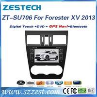 Zestech car radio for Subaru Forester XV 2013 car dvd gps navigation car stereo