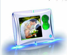 hot selling photo frame clock