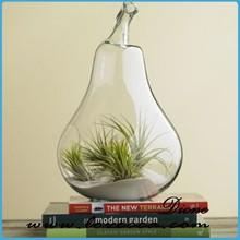 wholesale glass vase for outdoor decoration, glass art vase home decor