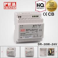 DR-30-24 psu 30w 24v 1.25a switch mode din rail power supply AC DC