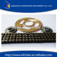 high quality jialing parts motorcycle chain sprocket