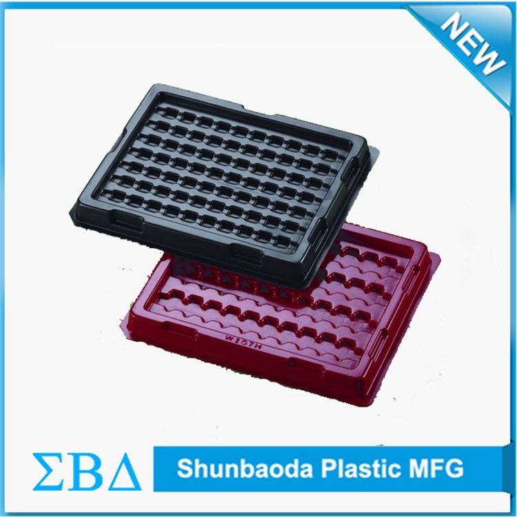 Customized Antistatic esd tray black anti-static blister packaging.jpg