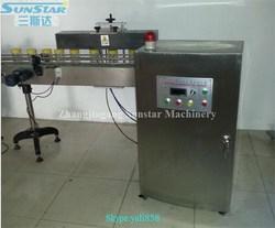 Hot sale linear type platic bottle aluminum foil induction sealer