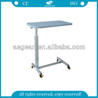 AG-OBT004 supplier gas spring control hospital furniture beside hospital beds