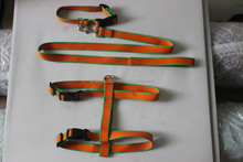 Eco-friendly 100% Organic Bamboo Dog lead+Collar+Harness Sets