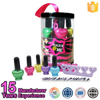 China Iso22716 Cosmetic Manufacturer Supplies Kid Color Nail Art Set