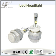 motorcycle portable led bright headlight assembly for car, custom h3 headlight led in stock