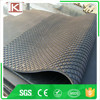 Coin Vinyl Tiles,horse stall mats /honeycomb stable horse mats stall cow rubber flooring with groove Made in China