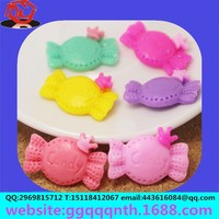 keychain necklace pendant hair accessories cell phone case sticker plastic resin candy