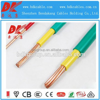 300/300V or 450/750V low voltage house wiring electric copper wire cable