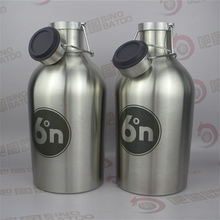 2L Swing-top cap growler for beer keg filling machine for 550l both plastic and steel keg
