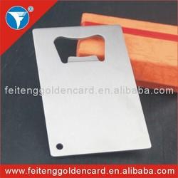 cutting through blank bottle opener stainless steel beer bottle opener stainless steel credit card bottle opener