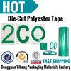 "Powder Coating Coat Paint - 1""x72 YDS 2 Mil pet insulation green High Temp Masking Tape"