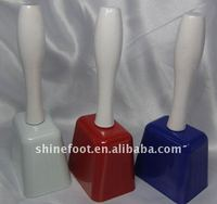 7.5inch square shape metal cow bell A13-H03 for sporting events as noise maker (E065 )