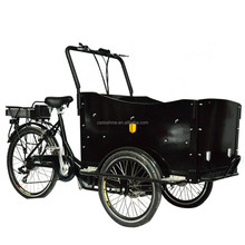 Three wheel cargo bike China 2015 /Electric front loading tricycle for adult