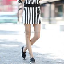 HJQ-C4005 Veri Gude Wholesale 2015 new summer women's fashion striped pencil skirt